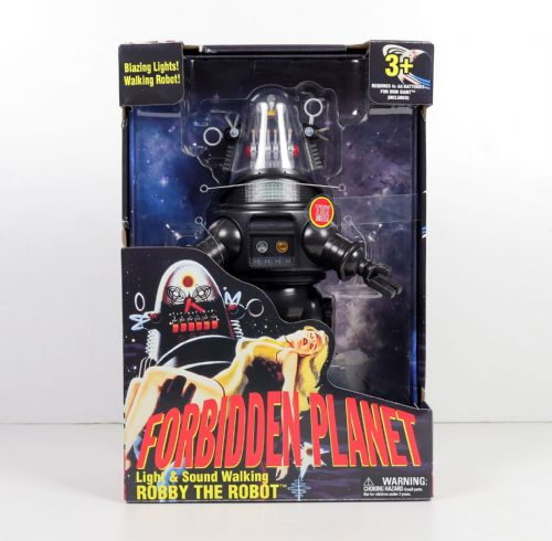 FORBIDDEN PLANET ROBBY ROBOT LIGHT & SOUND WALKING ROBOT